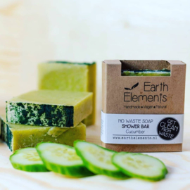 Earth Elements - Shower Bar Cucumber (No Waste)