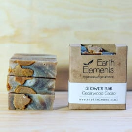 Earth Elements - Shower Bar Cedarwood Cacao