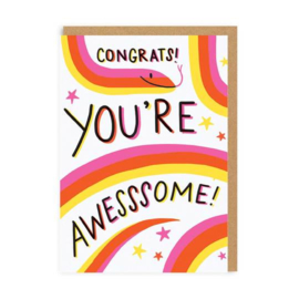 Ohh Deer - Congrats You're Awesssome