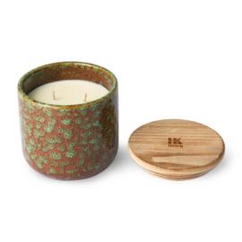 HKliving - Ceramic Scented Candle - Floral Boudoir (AKA3352)