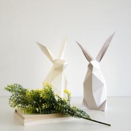 OWL Paperlamps - Rabbit Light Grey