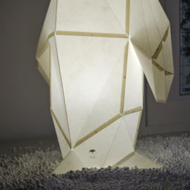 OWL Paperlamps - Small Penguin Cotton White