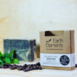 Earth Elements - Scrub Bar Coffee & Mint (No Waste)