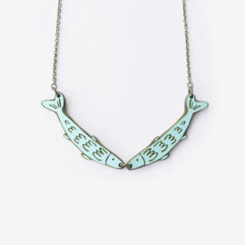 Materia Rica - Fish Friends Necklace
