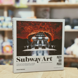 Printworks - Subway Art Puzzle - Fire