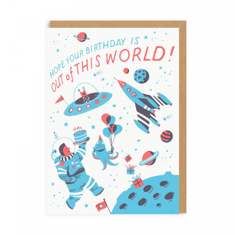 Ohh Deer - Space Birthday
