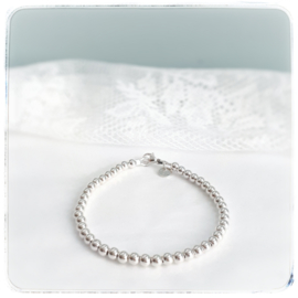 Mama armband zilver | Jill