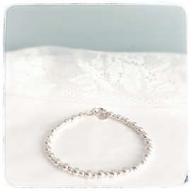 Mama armband zilver | Saar