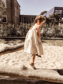 Boho Linen Naturel Dress