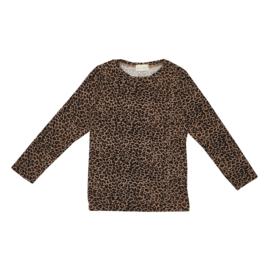 Longsleeve Brown Leopard