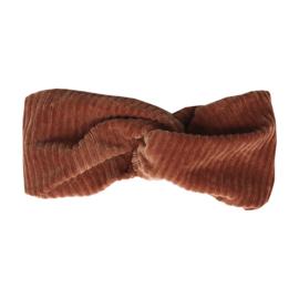 Headband - Velvet Rib Cinnamon Stick