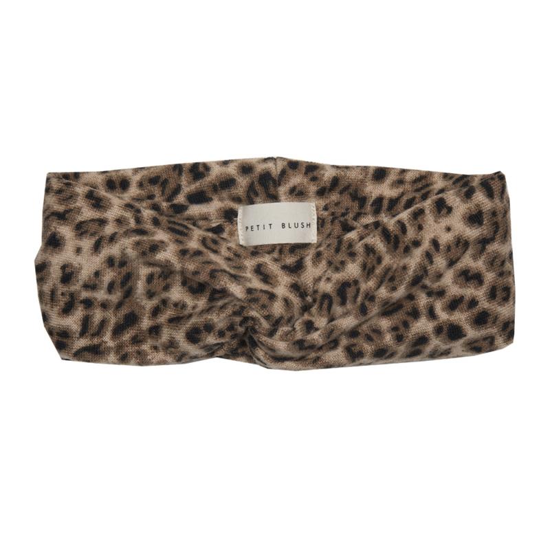 Headband - Teddy Leopard