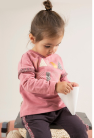 Sweater old baby pink