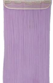 Clip in hair extensions strook / pastel paars  / 66 cm