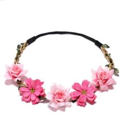 Haarband / Bloemenkrans - New Flower
