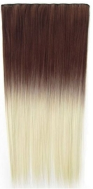 Synthetische clip in extension / Ombre 6/613 / 60 cm