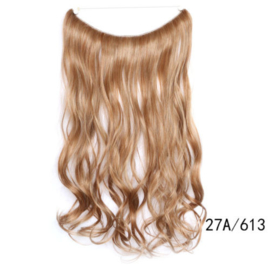 Flip in extension / Bruin - blond  27A#-613   / 55 cm