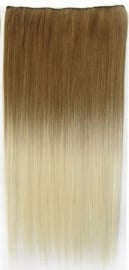 Synthetische clip in extension strook / Ombre #27/613 / 60 cm