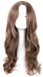 Pruik / Bruin haar - New York  / 60 cm