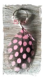 Festival haarbedels /  ''Pink Fairytail''  veer  / 1 stuk