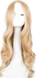 Pruik / Bruin blond - New Amsterdam / 60 cm