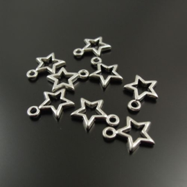 "Haarbedels / 1 set: ""Let me be your star"" / 5 stuks + 5 ringen"
