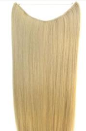 Synthetische flip in extensions / blond #24 / 50 cm