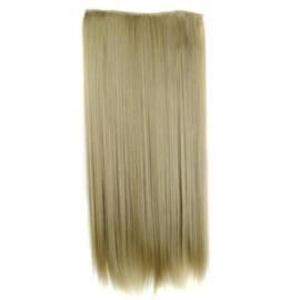 Clip in hair extension baan / blond #24-613  / 60 cm