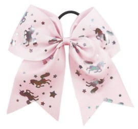 Haarelastiek / Unicorn licht roze / elastiek