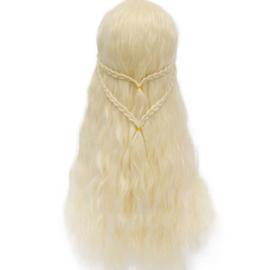 Pruik / Blonde pruik / Daenerys Targaryen - Game of Thrones