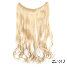 Flip in extension / Blond 25#-613    / 55 cm
