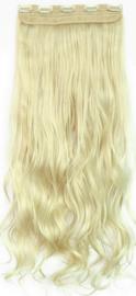 Clip in hair extension baan / Blond #613 / 50 cm