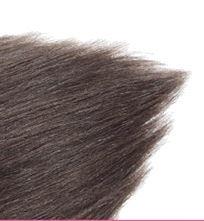 Clip in hair extensions set bruin  #4 /  70 gram / 50 cm