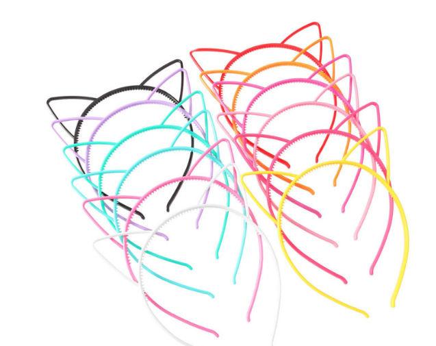 Haarband / miauw  cat - diverse kleuren