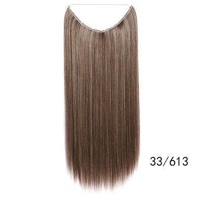 Flip in extension /Bruin blonde mix  33/613#  / 55 cm
