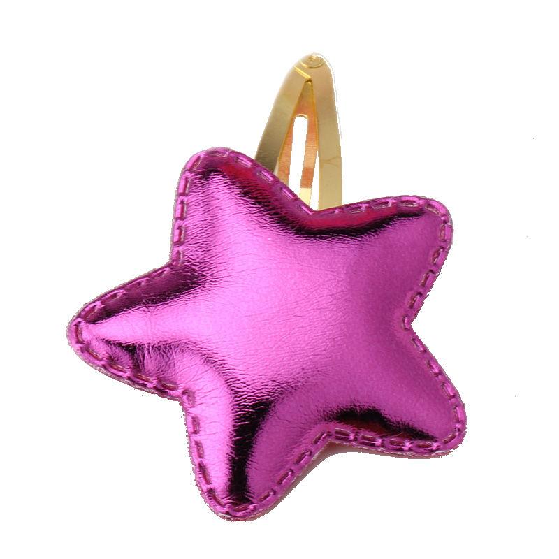 Haarspeld / Roze ster