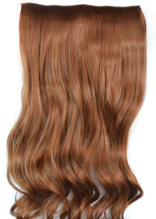 Clip in hair extension baan / #30 / 45 cm