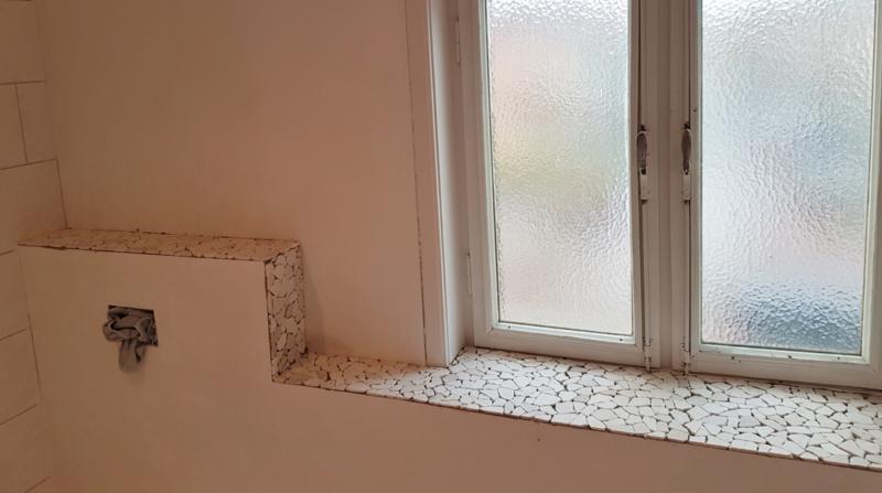 renovatie deel badkamer