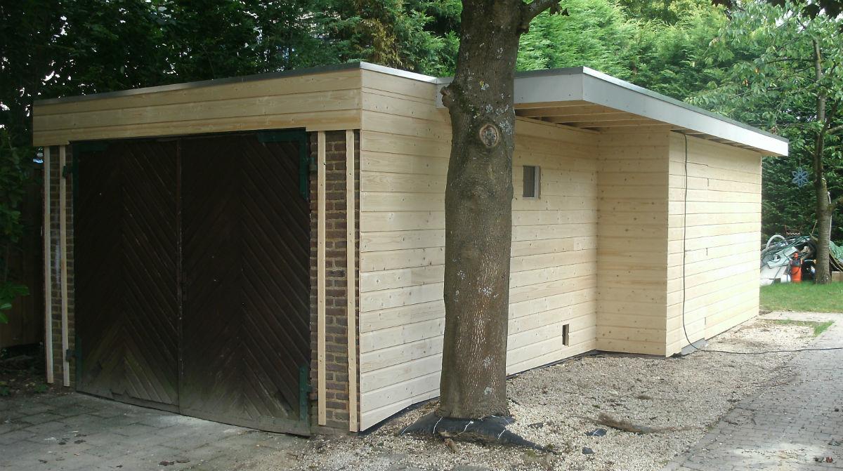verbouwing/ uitbouw garage