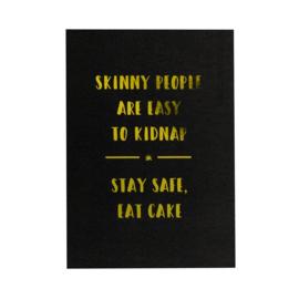 Ansichtkaart | Skinny people