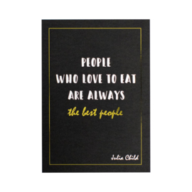 Ansichtkaart | The best people