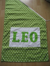 Schuine vlag 60 x 60 x 120 cm
