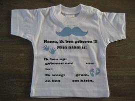 Geboortegegevens Jongen