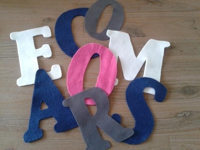Letters Vlag 70 x 100 cm