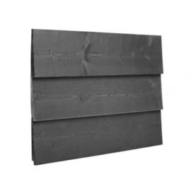 Potdekselschroef RVS zwart 4x50