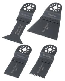 Qblades UN92 set a 4st, Set Hout-Metaal standaard