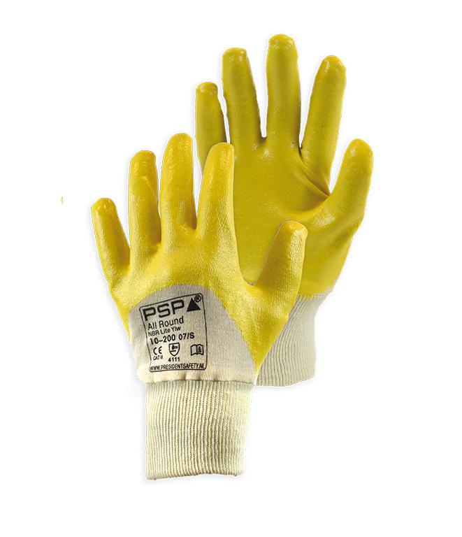 PSP NBR Lite Yellow 10-200