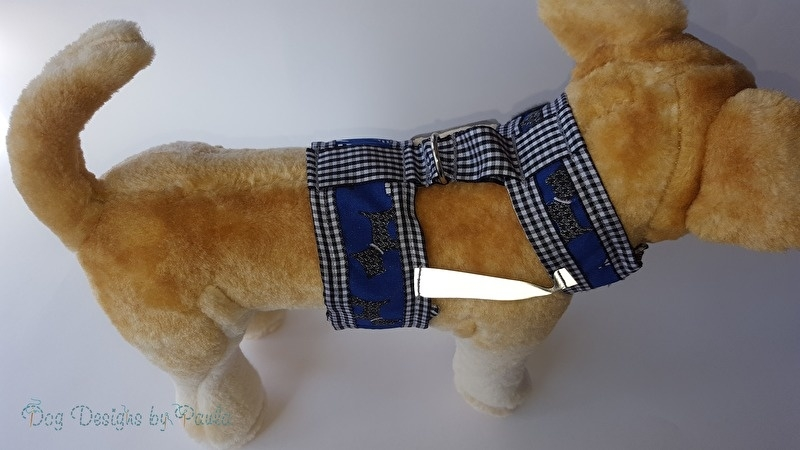 My Friends in Blue – Small Dog Harness