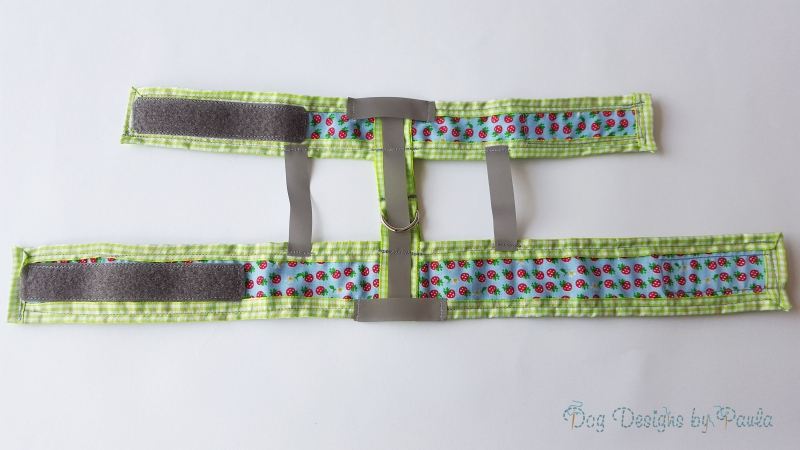 My Strawberry Fields – Super Ultra Reflective - Small Dog Harness