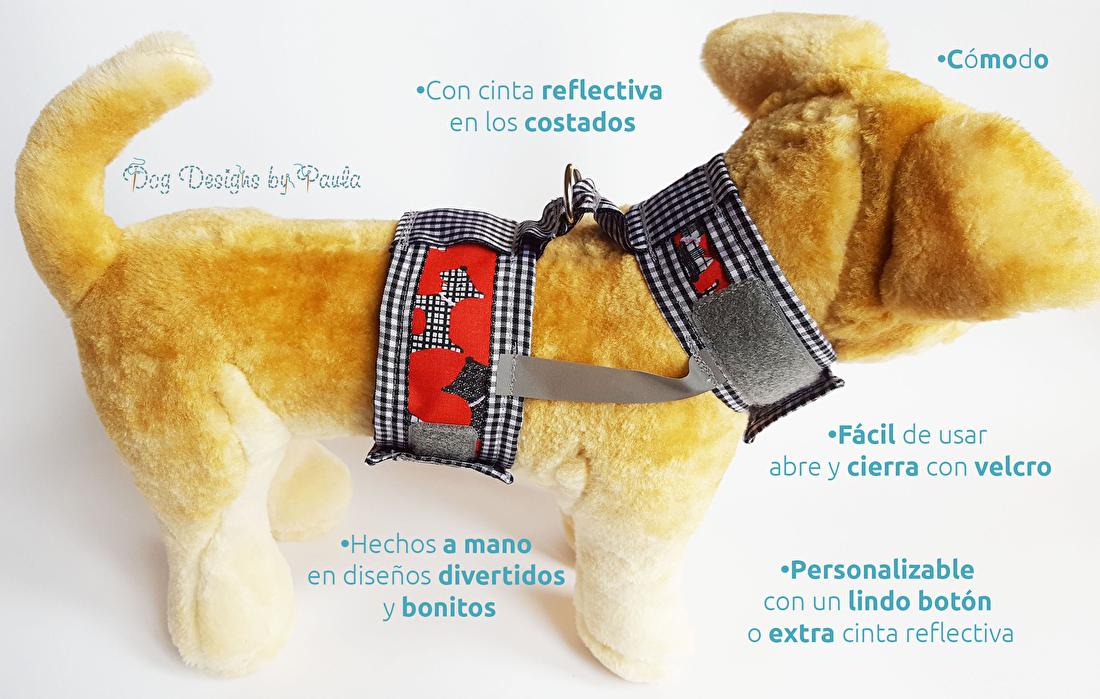 Lindo arnes para perros pequeños - Dog Designs by Paula